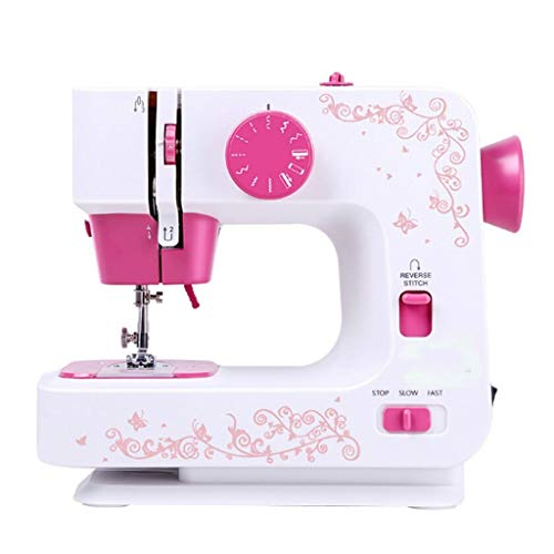 Best Review Of LEZDPP Sewing Machine Mini Home Multi-Function Electric Eating Thick Sewing Machine 1...