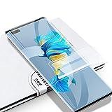 Asoway Schutzfolie für Huawei Mate 40 Pro Hydrogel Bildschirmschutzfolie Flex Folie Vollständige HD Anti-Fingerprint Deckung Kratzfest Bildschirmschutz für Huawei Mate 40 Pro [2 Stück]