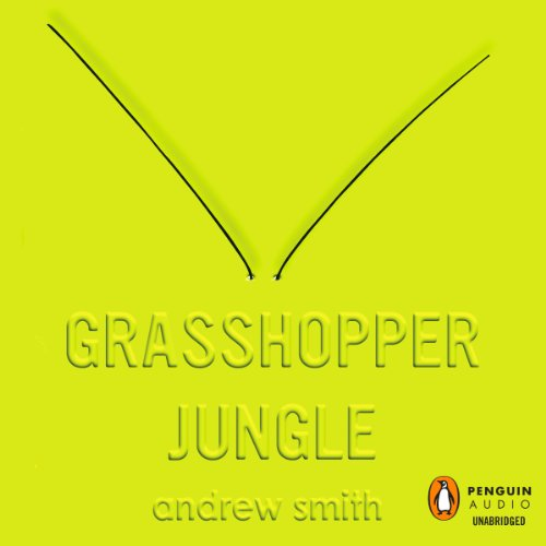 Grasshopper Jungle audiobook cover art