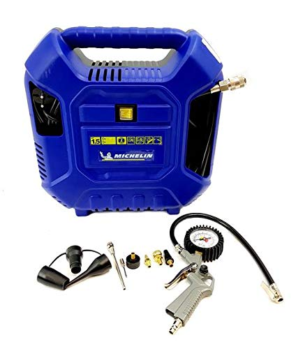Michelin - Compressore 1,5 Hp MB1+11 accessori