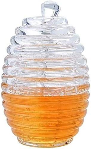 almacenamiento de alimentos Envases para Alimentos Tarros Clara Y Transparente Tarro De Cristal Tarro De Miel Con La Salsa De Arándano Varilla Agitadora Fruta De La Fresa De Almacenamiento Jar Botella