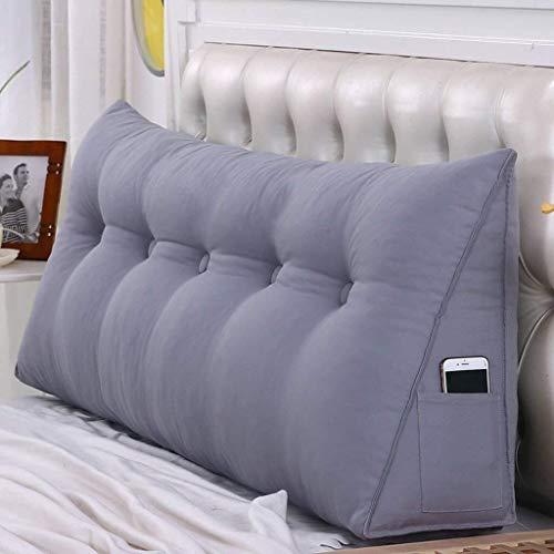 Auto lumbale kussen Grote Headboard kussen met Covers for tweepersoonsbed/Sofa Terug Soft Bag/bed Taille Back Pad / 7 Maten Optioneel grote kussen (Size : 0.5m)