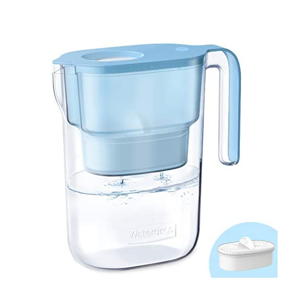 Waterdrop De-Lovely 5-Cup Water Filter Pitcher