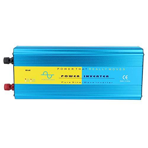 Aukson Inversor de Corriente 5000W Convertidor LCD Onda sinusoidal Pura para emergencias de Vacaciones turísticas