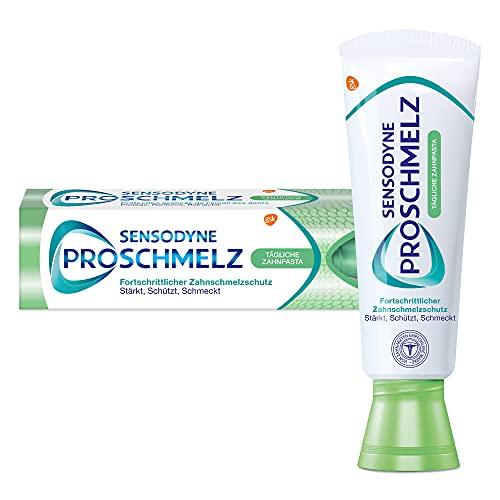 SENSODYNE ProSchmelz tägliche Zahnpasta, Fortschrittlicher Zahnschmelzschutz - Stärkt, schützt, schmeckt, 75 ml