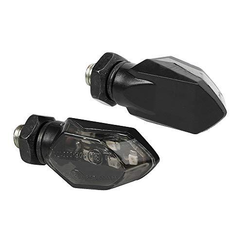 Lampa 90475 Micro, frecce Moto LED omologate, indicatori di direzione a LED, 12V