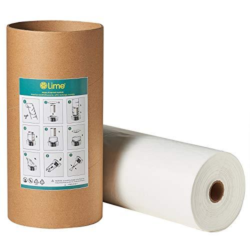 Recharges Poubelle compatible avec Tommee Tippee Sangenic Tec | Litière Locker II + tube en carton pour le stockage et le remplissage, réduire les odeurs,200m + 50m GRATUIT (250m + tube)