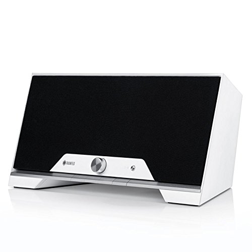 Una Raumfeld M Todo-en-uno Blanco Altavoz inalámbrico (Streaming, Wi-Fi, sin pérdidas, Spotify, inalámbrico, Multi-habitación)