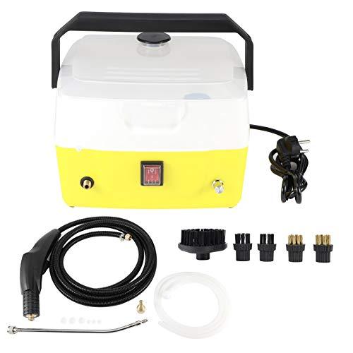 Omabeta 220V 4.5Bar Limpiador de Vapor eléctrico para el hogar Aire Acondicionado Limpiador de Vapor portátil Máquina de Limpieza de Campana de Cocina(European regulations 220V)