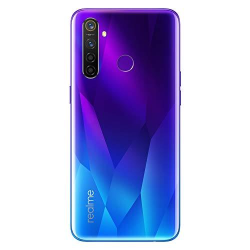 realme 5 Pro Smartphone Mobile Phones, 6.3 '' Snapdragon 712AIE Octa Core 48MP AI Quad Camera 4035mAh, Dual Sim, European Version (4GB + 128GB, Blue)