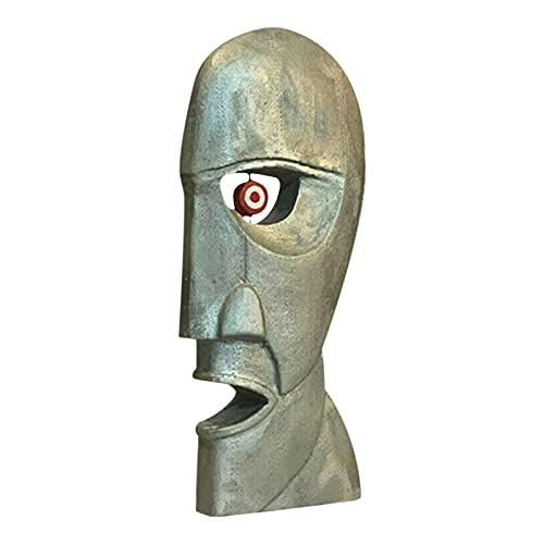 The Division Bell Metal Heads - Creative Resin Artigianato - Frigo Magnete Pink Flo-yd Division Bell Collection - Modern Style Strument Sense Head Statue - Adatto per Office Desktop Home Decor
