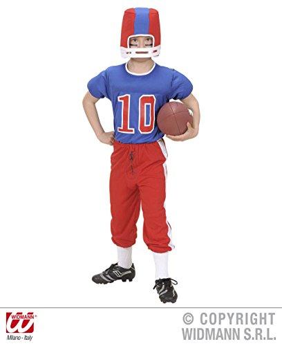 Widmann - Déguisement footballeur américain 11/13 ans