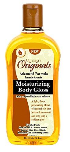 Ultimate Originals Moist Body Gloss 12 Ounce (354ml)