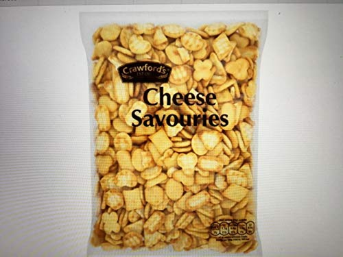 Crawfords Cheese Savouries 325g galletas saladas de queso