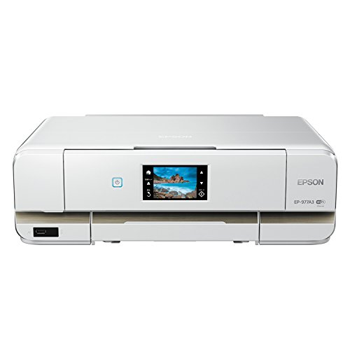EPSON インクジェット複合機 Colorio EP-977A3 無線 有線 スマートフォンプリント Wi-Fi Direct A3