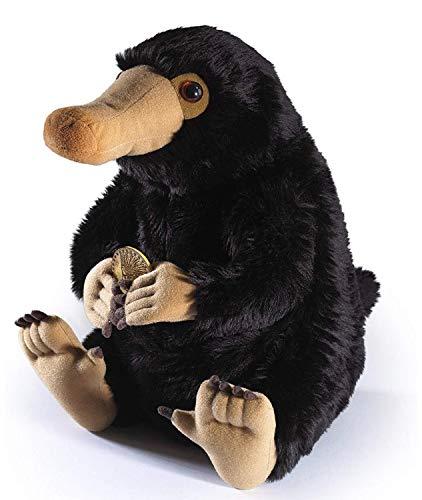 qwermz Plüschtier - 20 cm Niffler Fantastic Beasts Fluffy Black Duckbills Weiche Kuscheltiere für Kinder Geschenk