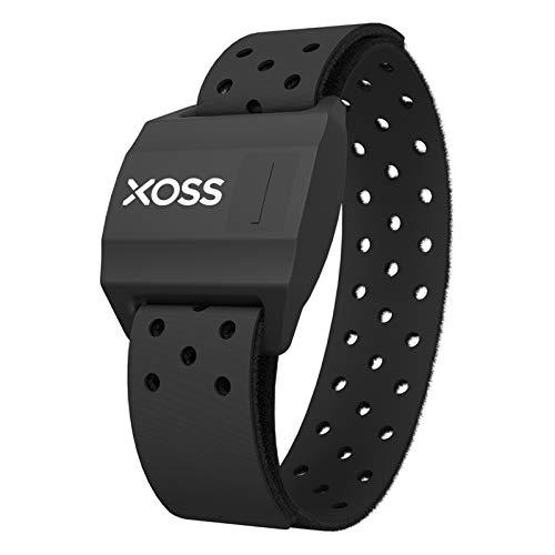 XOSS Heart Rate Monitor Bluetooth / Ant + Correa para el Pecho IP67 a Prueba de Agua, para Correr, Andar en Bicicleta, Deportes al Aire Libre (Brazalete)