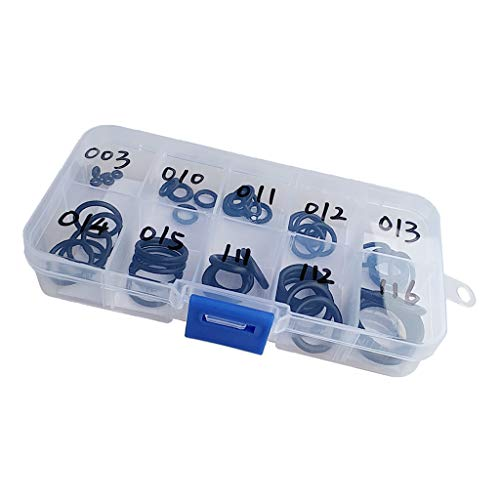 Baoblaze 50 Stück 70 Durometer Tauchen O Ring Kit Scuba Diving Dichtungsring Set Gummi Ersatzringe