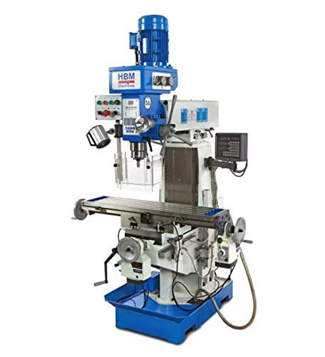 Professional Fräsmaschine Metall BF 60 DRO von HBM by Toolsde - Fräsmaschine Metallbearbeitung