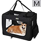 MC Star Transportin para Perros Gatos Mascotas Plegable Portátil...