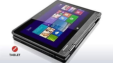 Thinkpad Yoga 11e 11.6-inch Touchscreen Convertible Laptop (Intel Quad Core Processor,4GB RAM, 128GB SSD, Windows 10 Pro)