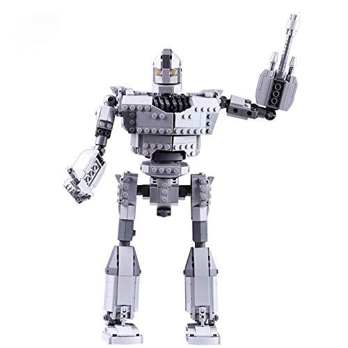 Nuevo robot Moc ajuste el robot de hierro cifras técnicas de la ciudad modelo gigante bloques de construcción ladrillos juguetes niños niños regalos cumpleaños