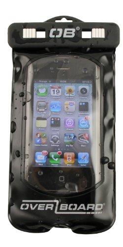 Overboard, Custodia Impermeabile per Smartphone, Nero (Schwarz), 28 x 16 x 2 cm