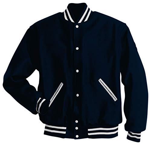 Holloway Sportswear Letterman Jacket XL True Navy/White