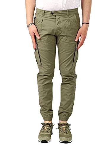 jeans yes zee uomo Yes Zee Jeans Uomo P635-FG00 Verde 31