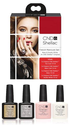 Cnd Shellac French Manicure Set - 4 X Shellac Shelllack