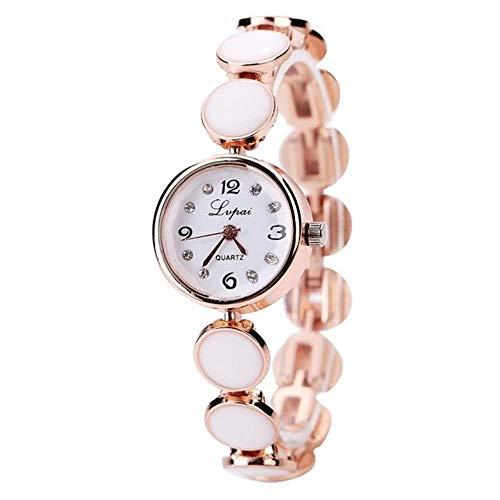 Armbanduhr Uhr Uhren Armbanduhr Damenarmbanduhr Strass Stahlgürtel Damenuhr Rundes Zifferblatt Damenuhr Quarzwerk Damenuhr Geschenk