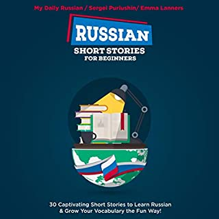 Russian Short Stories for Beginners audiobook cover art