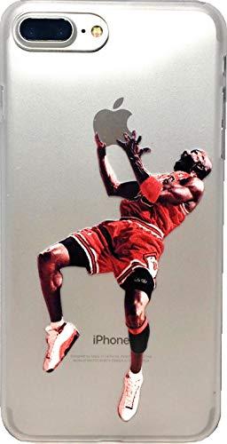ECHC Soft-TPU Basketball Hülle für Ihre Lieblingsspieler von Vergangenheit & Gegenwart kompatibel mit iPhone Modellen, 11 Pro Max, Jordan Reverse Jam