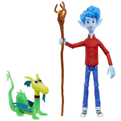Disney and Pixar Onward Core Figure Ian Character Action Figure Realistic Movie Toy Brother Doll for Storytelling, Display and Collecting for Ages 3 and Up​ ​​