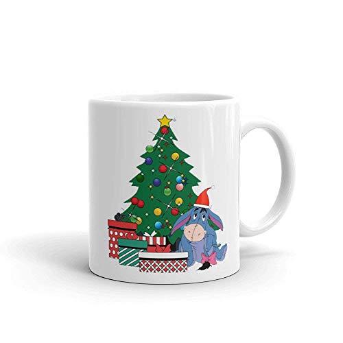 N\A Taza Eeyore Alrededor del árbol de Navidad Winnie The Pooh