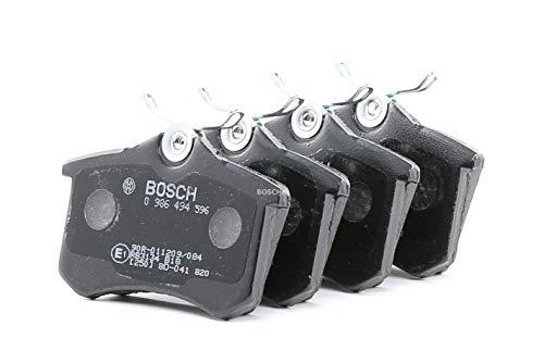 Bosch BP617 Jeu de 4 plaquettes de frein