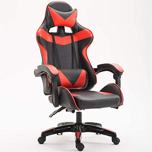 WSDSX Office Chairs Computer Chair Gaming Chair Gaming Chairs for Kids Gaming Chair with footrest and Massage Gaming Chair footrest only Gaming Chairs for Teenagers Floor Gaming Chair