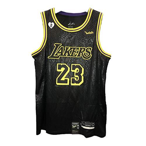 LêBron James Lakers Mamba - Camiseta de baloncesto para hombre, 23 # Finals Chāmpion Edition Retro Swingman Edition chaleco de malla