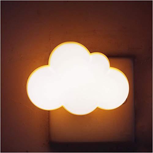 AUSAYE Sensor LED Night Light Plug-in Night Lights for Kids Adults Dream Bedroom Lamp Wall Cloud NightLight Room Decor