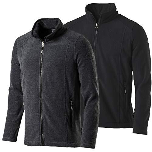 McKINLEY Herren White Mountain Fleece-Jacke, grau, XL