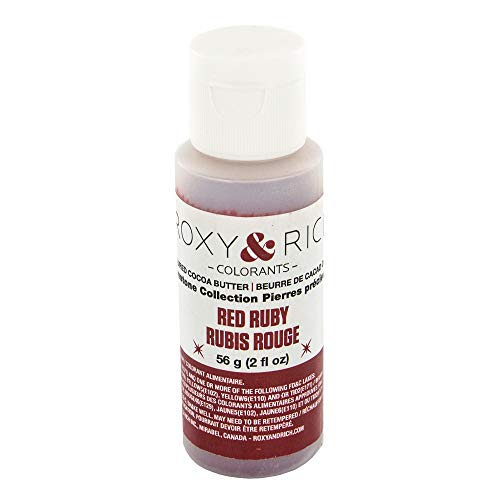 Cocoa Butter, Gemstone Quartz Pink 2 Ounces by Roxy & Rich