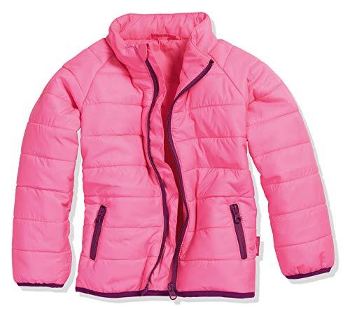 Playshoes Mädchen Steppjacke uni Jacke, Rosa (Pink 18), 140