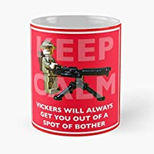 Keep Calm Vickers Machine Gun Army - Funny Mug Coffee Gift For Christmas Father's Day