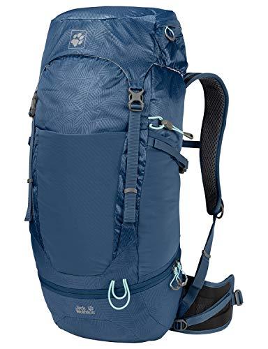 Jack Wolfskin KALARI Trail 36 Pack Trekking Reise Rucksack, Leaf Dark Sky, ONE Size