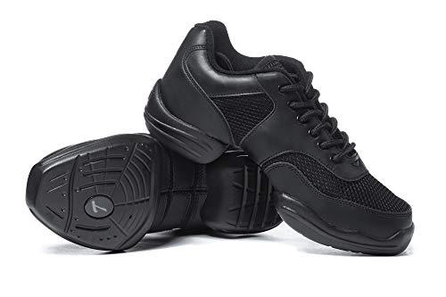 Adult Split-Sole Sneaker T8000BLK09.0 Black 9 M US