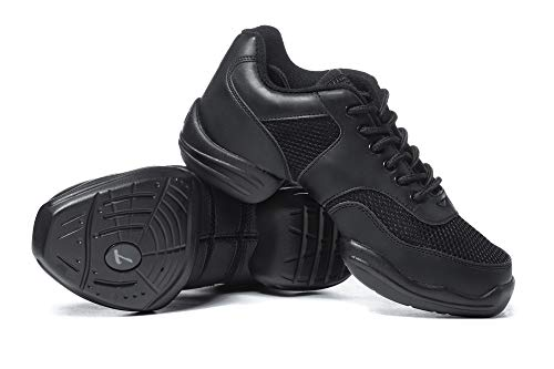 Adult Split-Sole Sneaker T8000BLK09.0 Black 9 M US