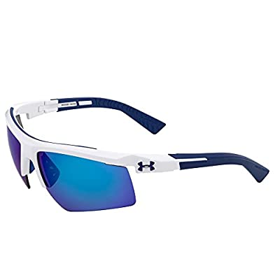 Under Armour Men's Core 2.0 Sunglasses White / Gray Lens 69 mm
