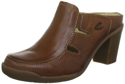 Camel active Parma 13 7851301, Damen Clogs & Pantoletten, Braun (nut), EU 42 (UK 8) (US 10)