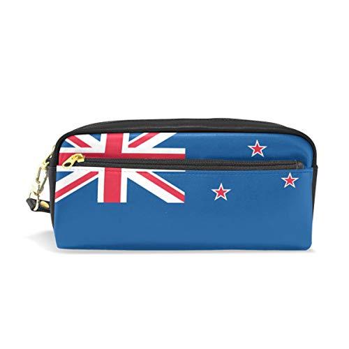 Federmäppchen mit Neuseeland-Flagge, PU-Leder