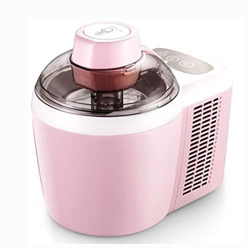 220 V fabricantes de helados caseros 0.6L completo suave máquina de helado duro máquina inteligente sorbete fruta yogur hielo Maker postre Maker